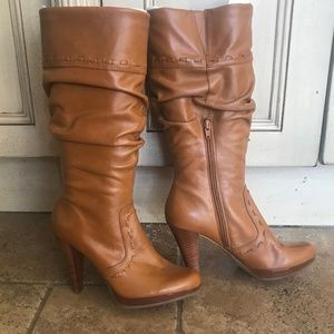 Guess leather boots